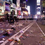 New Years Eve at Times Square [1 Uhr morgens]