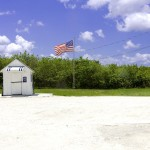 Kleinstes Postamt der USA, Ochopee Post Office, Everglades-Nationalpark Florida
