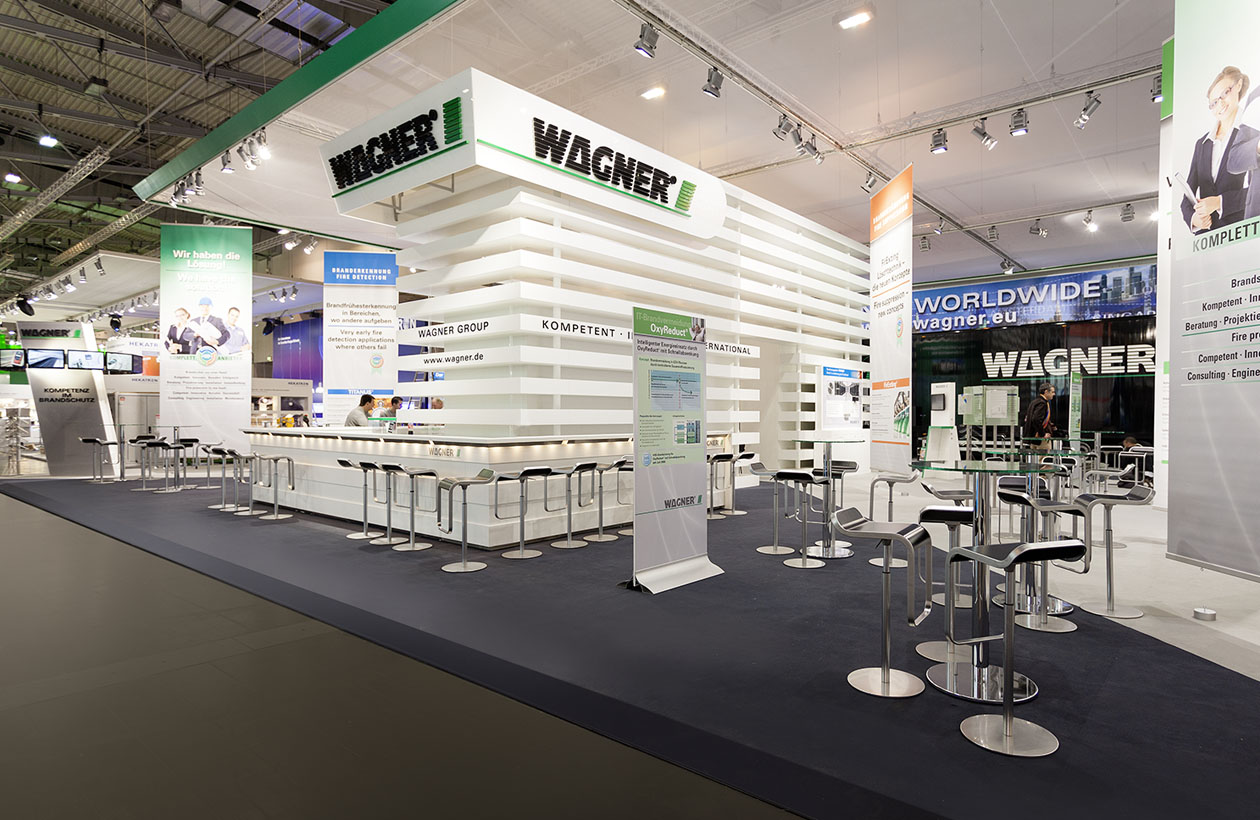 Messestand Wagner Group