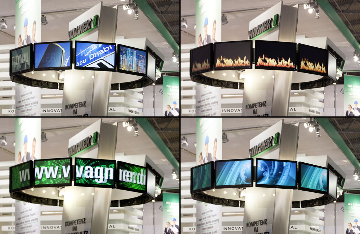 Messestand Wagner Group, Messevideo